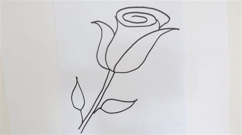 Easy Real Flowers To Draw by Easy To Draw Flower Pictures Easy Drawing