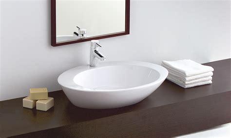 lavabo de encimera lavabo sobre encimera 61x46 cm gala