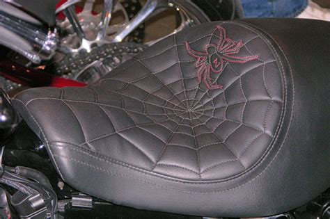 Motorcycle Seats Upholstery by Dale Hancock