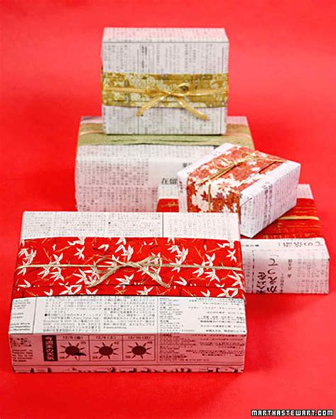japanese wrapping japanese newspaper gift wrap video martha stewart