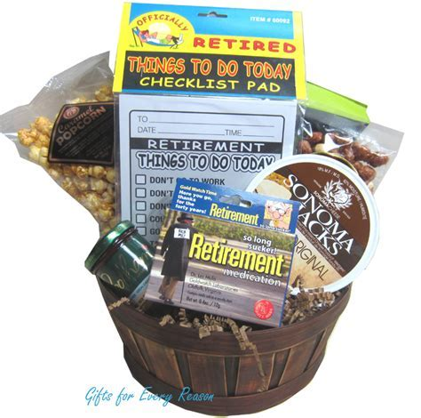 Retirement Gift Baskets Canada