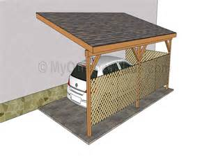 carport designs plans attached carports designs exle pixelmari com