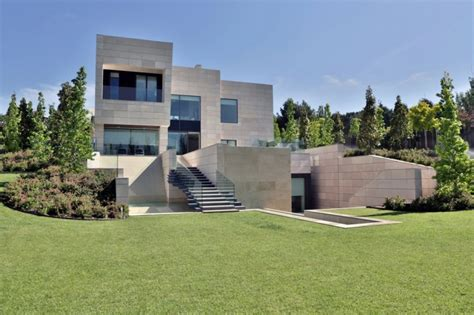 modern mansion world of architecture modern mansion in madrid by a cero architects