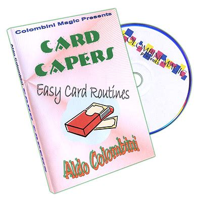 Can I Use Aldo Gift Card Online - card capers by aldo colombini dvd history theory history magicworldonline