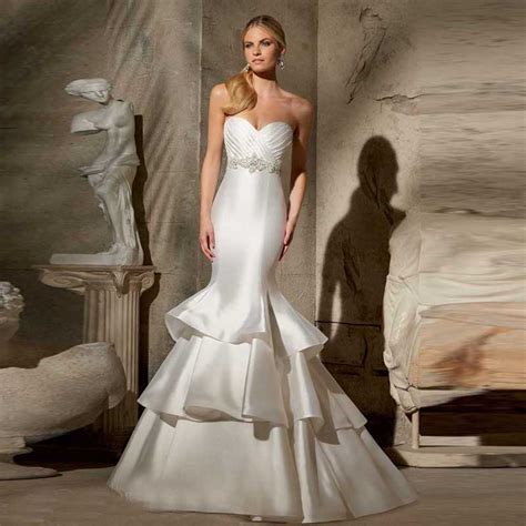 Plain Wedding Dresses by Get Cheap Simple Plain Wedding Dresses Aliexpress