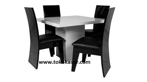 Serping Set Kotak meja makan kursi makan dining table meja makan minimalis