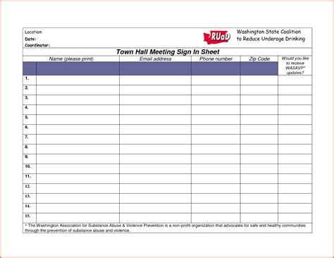 9 10 meeting sign in sheet samplenotary com