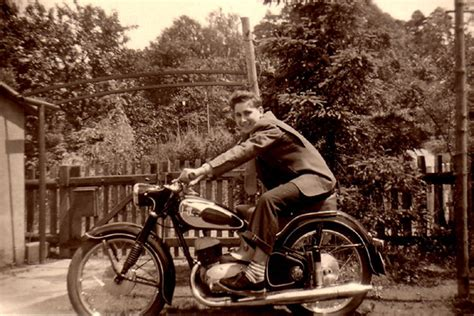 50er Motorrad by Historische Aufnahmen Motorr 228 Der