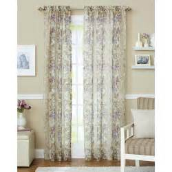 Ikat Draperies Better Homes And Gardens Roses Sheer Curtain Panel