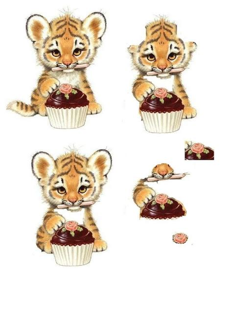 decoupage animals 17 best images about 3d on animals