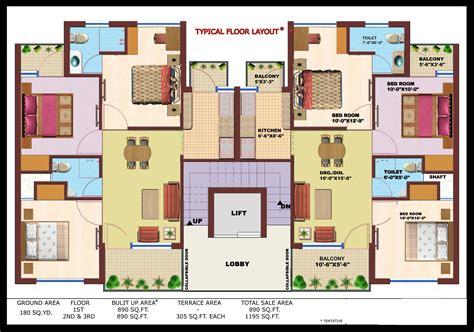 600 Square Feet Apartment independent floor in era divine floors prithvi estates