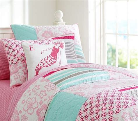 pottery barn girls bedding surf patch quilted bedding pottery barn kids girl s