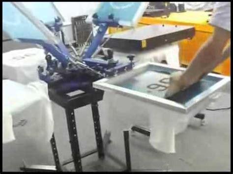 Mesin Sablon Manual mesin sablon manual sistem rotary