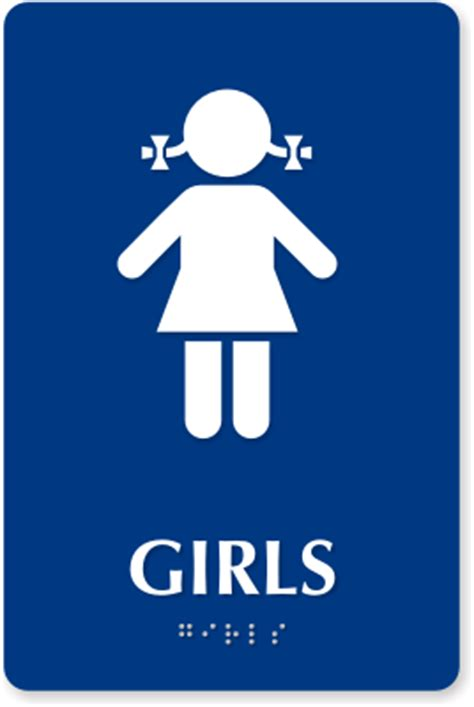 bathroom girl sign girl bathroom sign clipart best