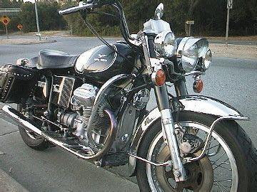 '74 moto guzzi eldorado lapd | classic motos | pinterest