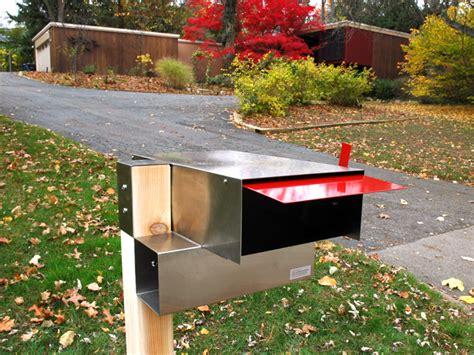 Handmade Mailbox - project custom modern mailboxes codaworx