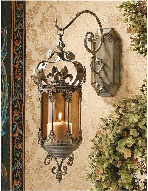 Hanging Wall Sconce Fleur De Lis Hanging Metal Scrollwork Pendant Lantern