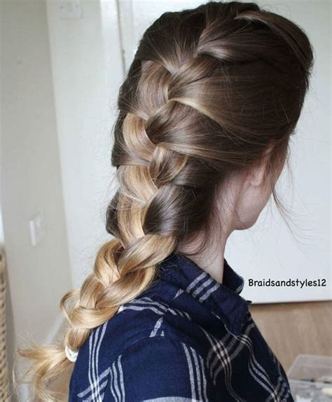 Simple Braid Hairstyles 20 and easy hairstyles for work
