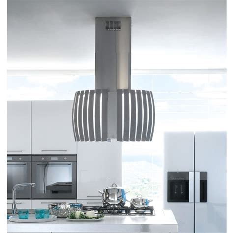 Kitchen Island Stainless Steel Top falmec prestige 75cm island hood pre 750 is cooker hoods