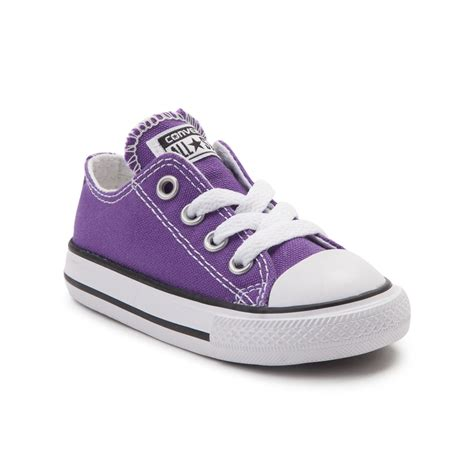 sneakers for toddler toddler converse chuck all lo sneaker purple