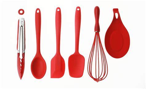 Safe Kitchen Utensils by 6 Pieces Cooking Utensils Baking Tools Bakeware Set Big