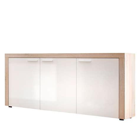 schmales sideboard weiß kinderzimmer wand ideen