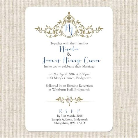 royal invitation template wedding invitation templates royal wedding invitation