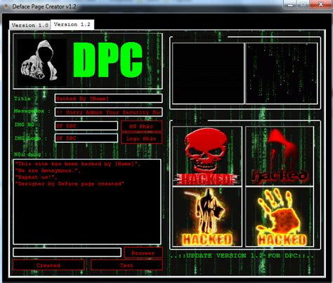 tutorial deface page creator deface page creator piratas hackers deface page creator