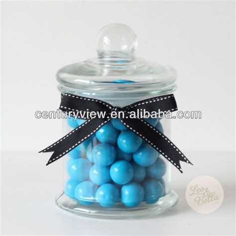 clear glass pedestal candy jars for candy buffet buy
