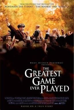 best biography documentary ever the greatest game ever played wikipedia