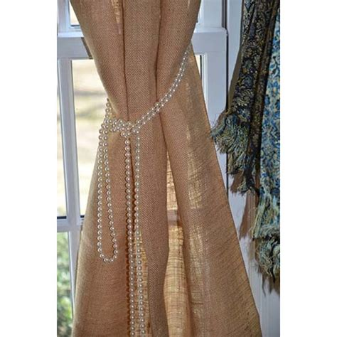 natural burlap curtains online tablecloth store for burlap drapes 108 high x 60 wide