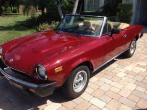 Fiat 124 Convertible 1979 Fiat 124 Spider 2000 Convertible Automatic No