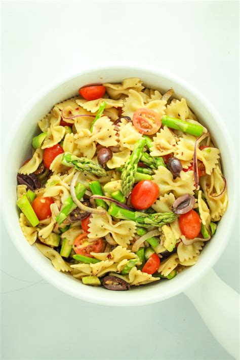 pasta salad vegetarian 15 minute vegan pasta salad from the fitchen