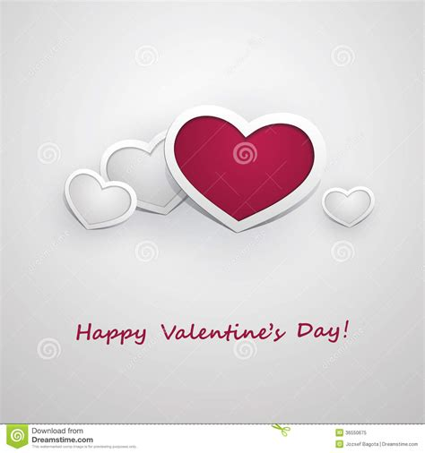 valentines day card design hearts vector stock vector valentine s day card design template illustration for