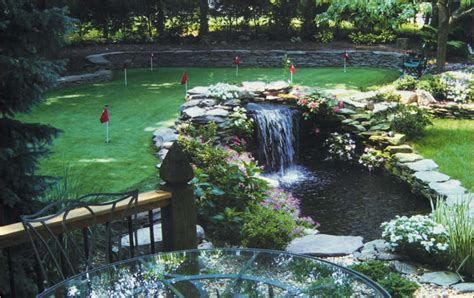 Backyard Golf Course Design by Golf Scapes Elma Orchard Park East Buffalo