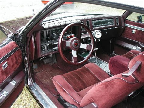 Type C Maroon Mu 1984 buick regal interior pictures to pin on pinsdaddy