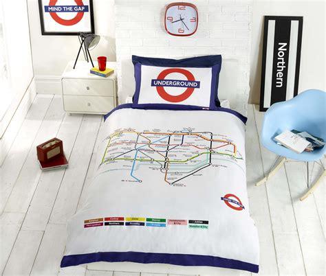 Underground Duvet Cover underground map quilt duvet cover p cases bedding bed sets 3 sizes ebay
