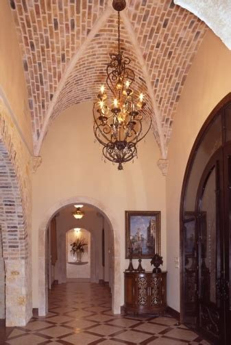 Vaulted Brick Ceiling by