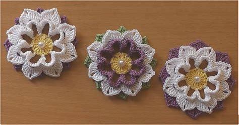 crochet flower pattern easy tutorial crochet flower very easy tutorial