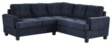 navy blue tufted sofa tufted sectional sofa navy blue suede traditional