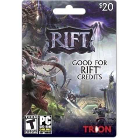 Blizzard Gift Card Gamestop - rift gift card 20