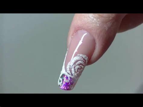 nail art effetto zucchero tutorial nail art effetto zucchero sugar effect youtube