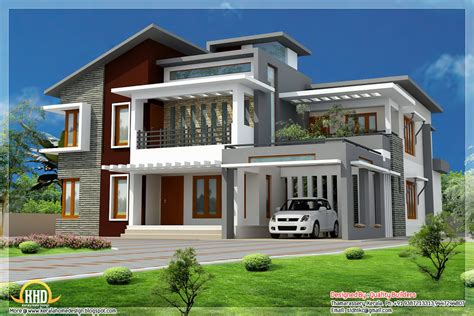 exterior home design gallery small modern homes superb home design contemporary modern style kerala home design and