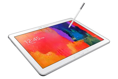 Tablet Samsung Note Pro list of tablets based on size not performance android
