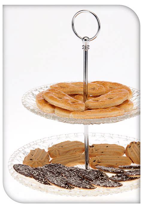 Etagere Kuchen by Runde Etagere F 252 R Kuchen Obst 2 Ebenen Glas K 252 Che