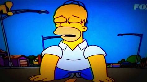 homero triste por bart youtube hombre llorando homero simpson youtube