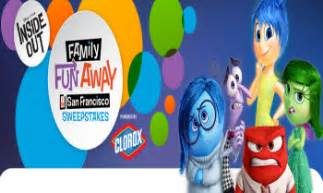Disney Sweepstakes Winners - disney inside out family fun away in san francisco sweepstakes win a san francisco