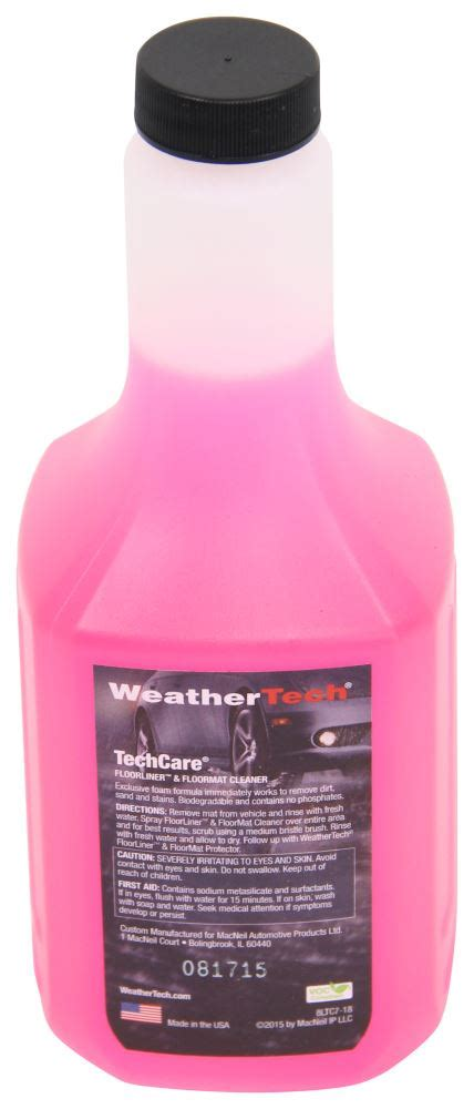 cleaner and protector kit for weathertech floor mats
