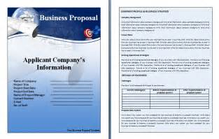 Free Template For Business Proposal Business Proposal Templates World Maps And Letter
