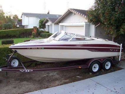 boat upholstery san jose 8 100 1998 vip vixen 20 open bow with trailer for sale